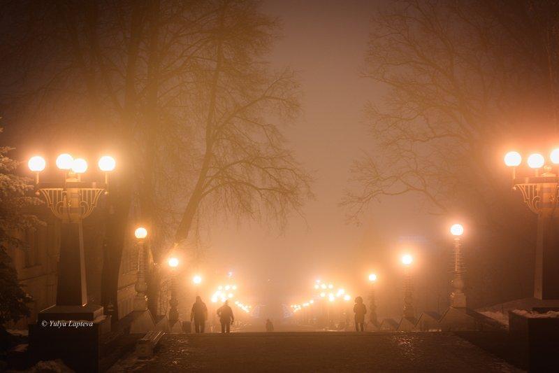 брянск,зима,декабрь,туман,атмосфера \