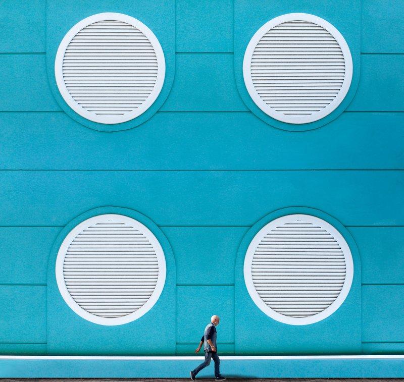 #street, #architecture Walking near a wallphoto preview