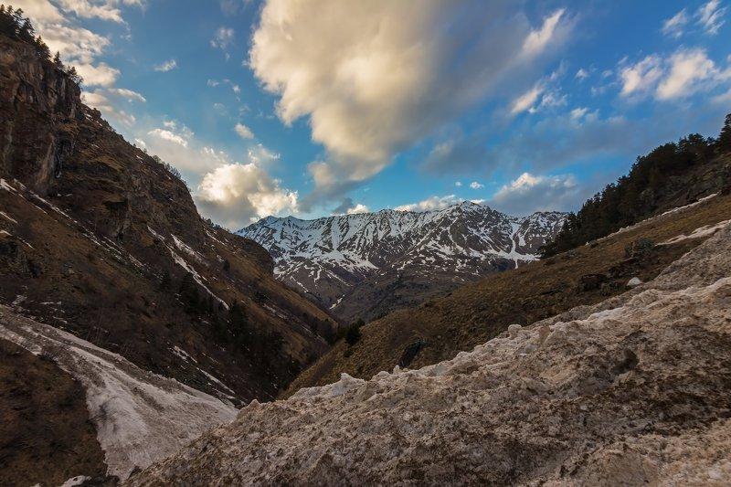 горы,восхождение,кавказ,облака among the avalanches...photo preview