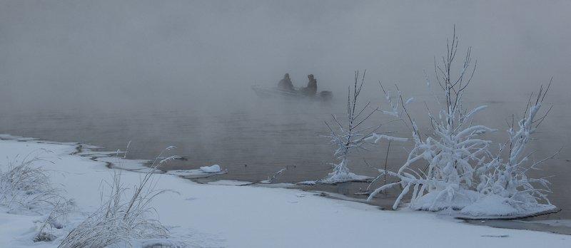 ангара зимняя рыбалка О суровости сибирских мужиковphoto preview