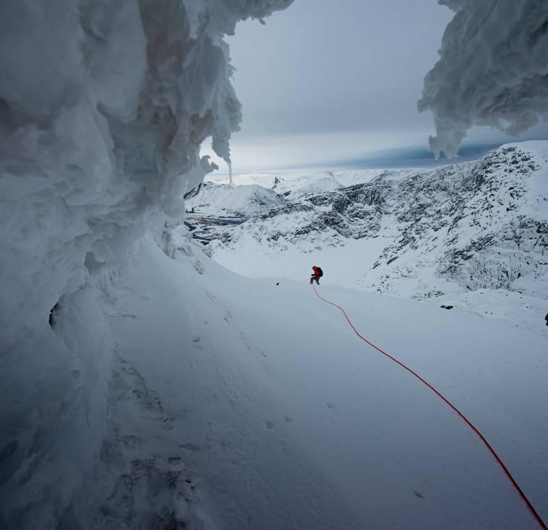 В снегах Хибин.photo preview