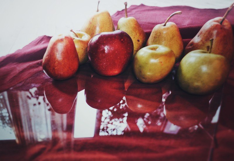 fruita, naturmort, apples applesphoto preview