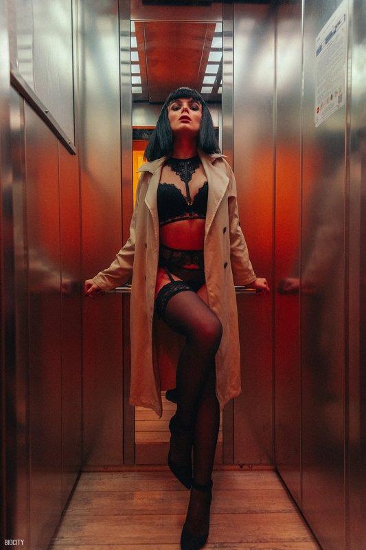 biocity, girl, девушка, new elevatorphoto preview