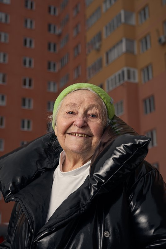 woman, old, portrait, ufa, grandmother, new year, 2021 Бабаняphoto preview