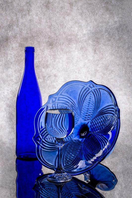 Синий натюрмортphoto preview