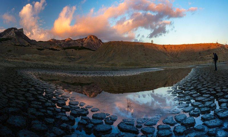 Озеро Три сестры, Солнечная долина, Крым.photo preview