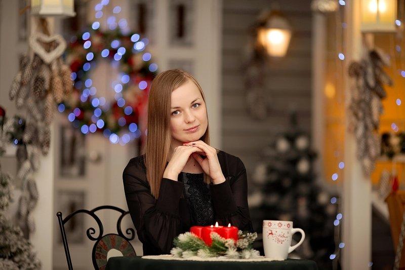 студия, помолейко, девушка, новогоднее, студия, фотостудия Новогоднее настроениеphoto preview