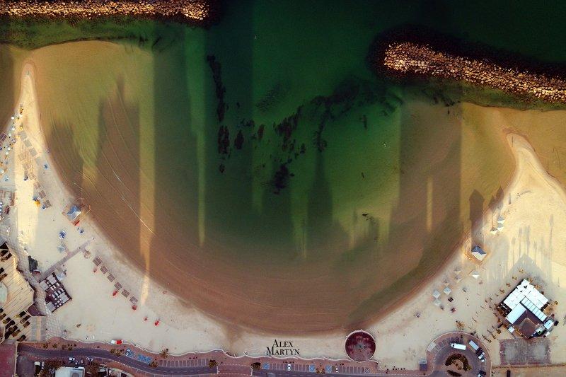 город, тени, израиль, море, красное, волны, вид, Город тенейphoto preview