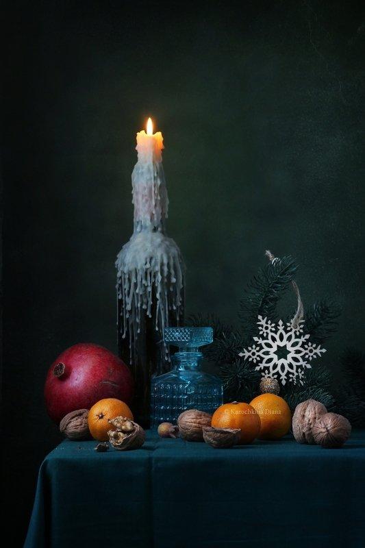 натюрморт, новый год С первого по тринадцатое...photo preview