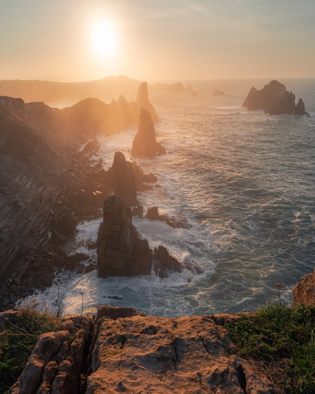 spain, cantabria, urros, light, испания, закат, океан, ocean, кантабрия Nothern Spainphoto preview