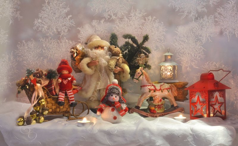 still life, натюрморт, фото натюрморт,зима, январь, новый год, праздник, ёлка, игрушки, настроение Из древней немеркнущей сказки...photo preview
