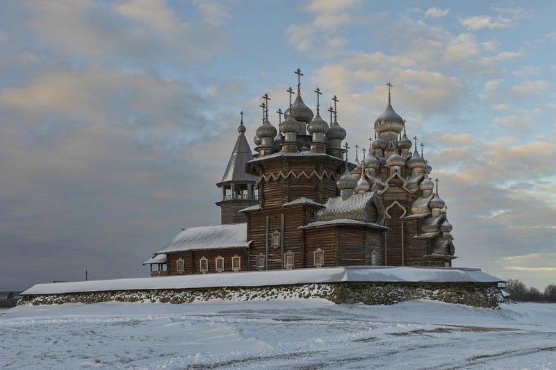 кижи Преображенская церковьphoto preview