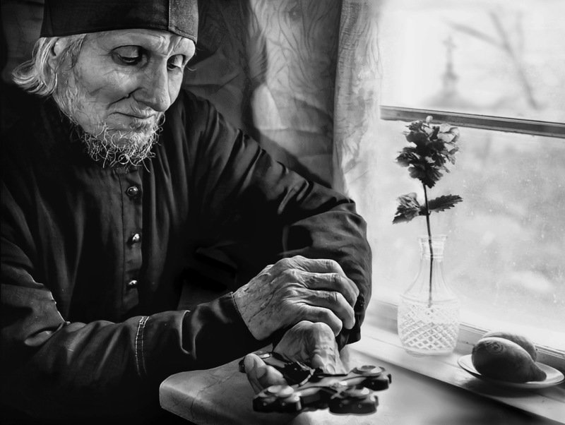 Жанровый портрет, RomanMordashevPhotography  Старый крестphoto preview