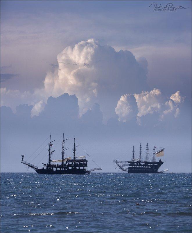 облачные корабли...photo preview