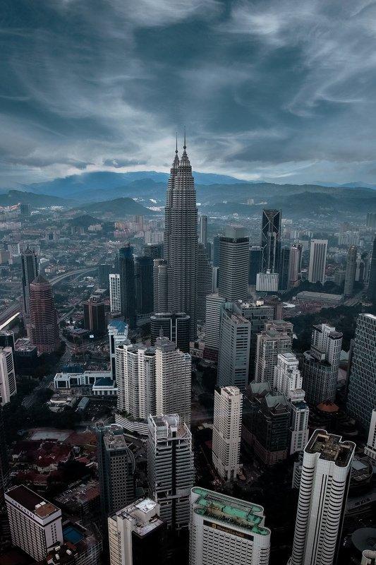 город, архитектура, туризм, путешествие, пейзаж Куала-Лумпурphoto preview