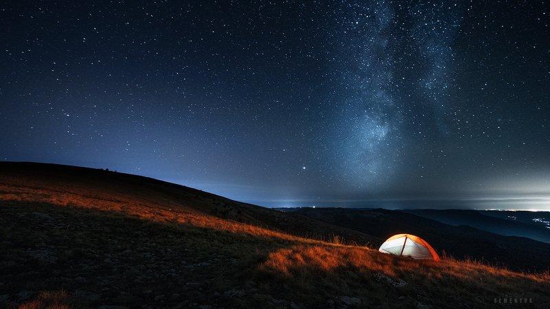 крым, ночь, галактика, кемаль-эгерек, горы, звёзды, ночь, палатка, night, stars, mountain. \
