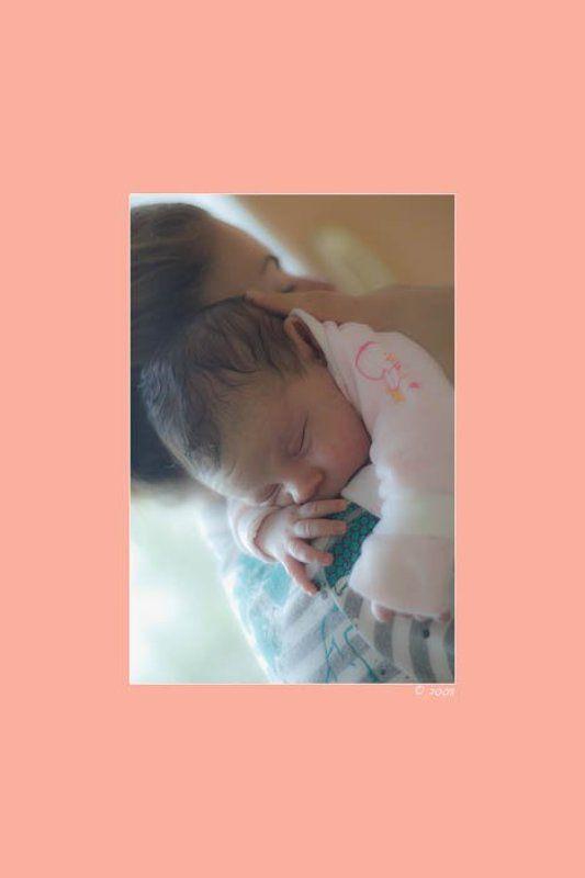 ребенок, малыш, сон, дочь, мама с первых днейphoto preview