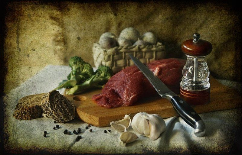 Мясо с перцем...photo preview