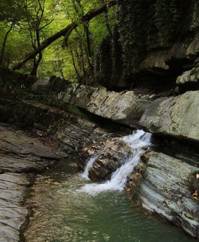 змейковские водопады, горы, сочи, лес Змейковские водопадыphoto preview