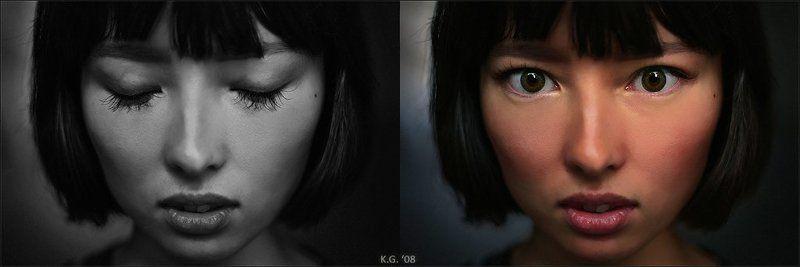 Чёрно-белые сны...photo preview