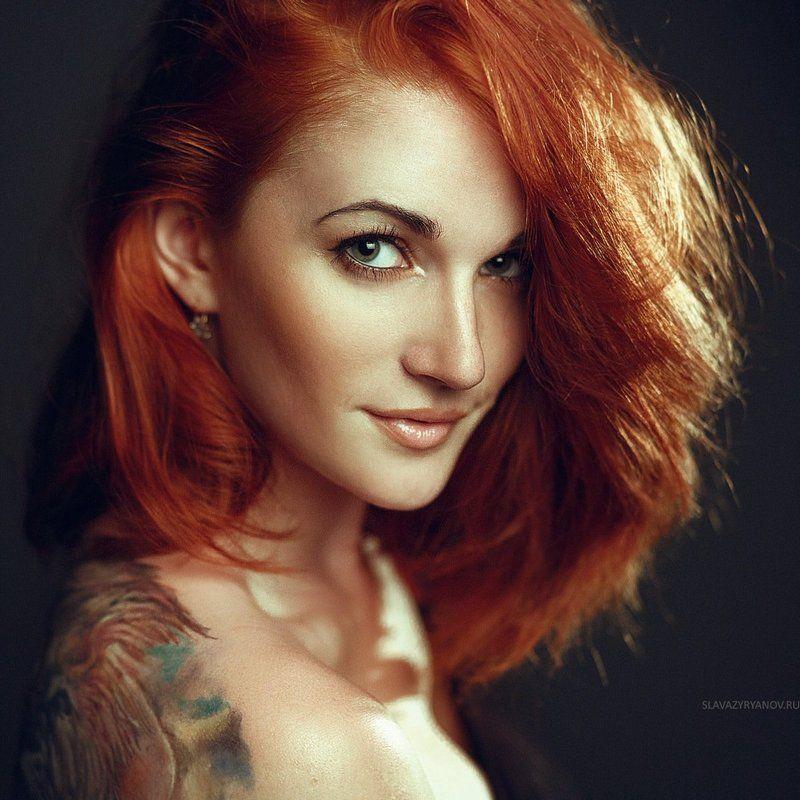 рыжая, девушка Александраphoto preview