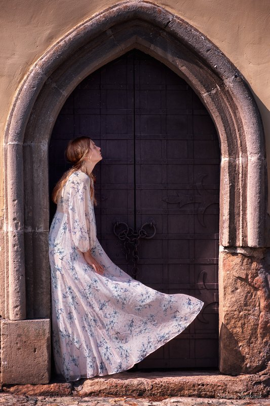 portrait, fragile, natural beauty, female portrait, emotion Fragile sadness againphoto preview