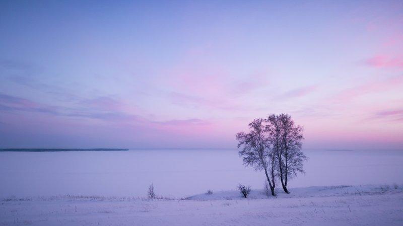 Зимний берегphoto preview
