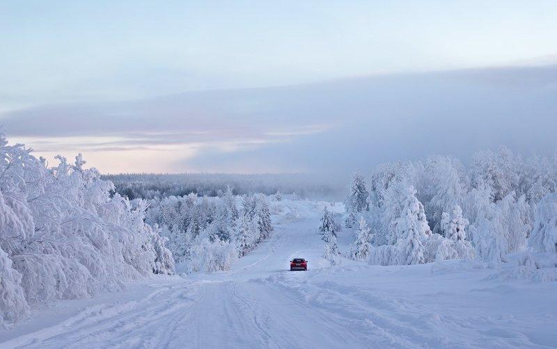 север,коми,зима,природа,печора Зимние красотыphoto preview