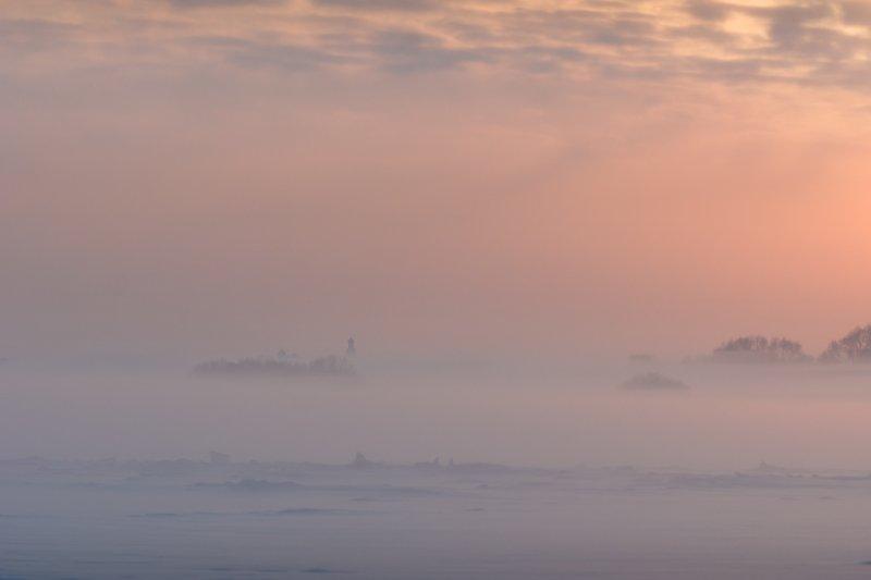 новгородская область, В морозной мглеphoto preview