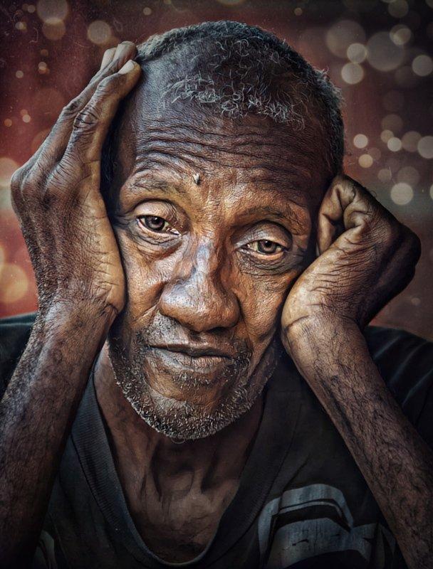 портрет, жанровый портрет, эмоциональный портрет, romanmordashevphotography Время груститьphoto preview