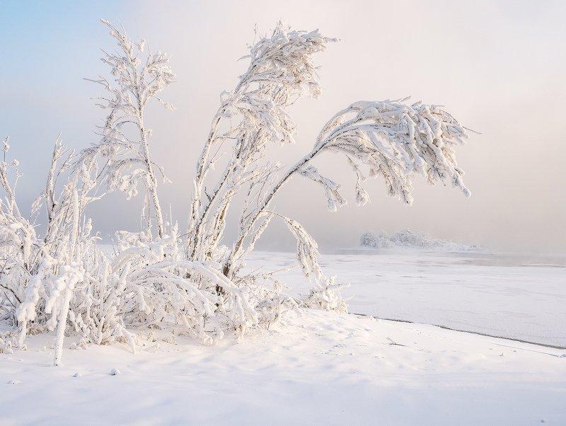 ...Снежный пляж...photo preview