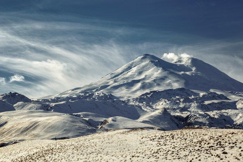 горы, Эльбрус Северный склон Эльбрусаphoto preview