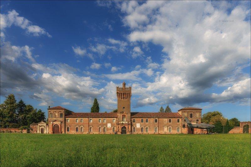 italy,san pelagio,colli euganei, вилла,италия,эвганские холмы,венето,castello San Pelagiophoto preview