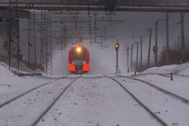 поезд экспресс москва ласточка Зимняя ласточкаphoto preview