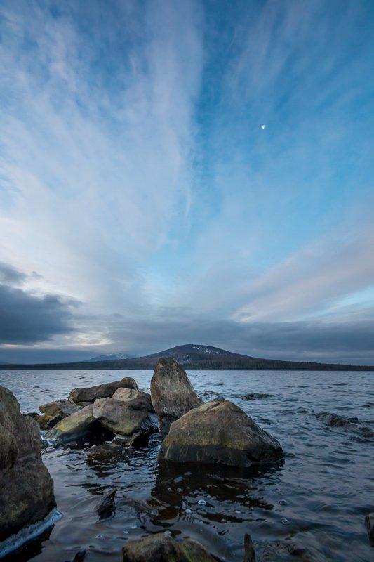 утро облака осень озеро урал камни зюраткуль Утроphoto preview