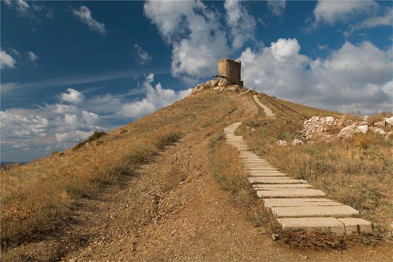 крым, балаклава, руины, крепость ***photo preview
