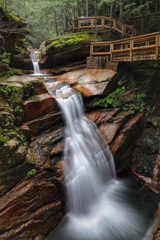 Водопад, природа, пейзаж Фата невесты…photo preview