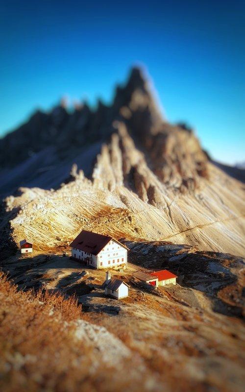 доломиты, альпы, италия Домикиphoto preview