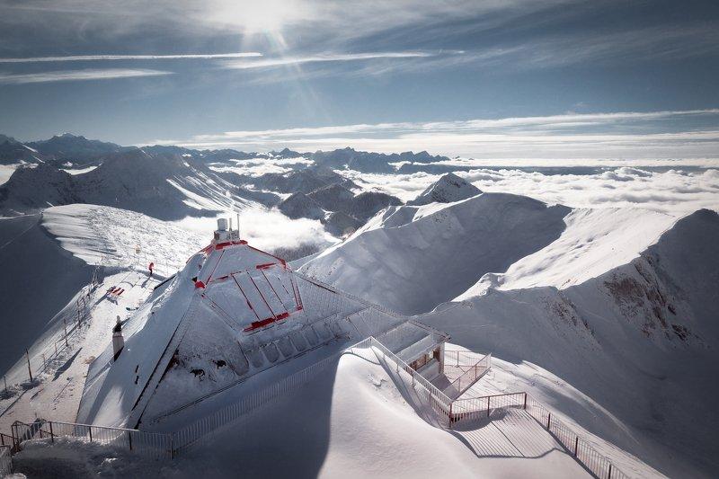 фотограф, горы, зима, снег, облака, *Фотограф*photo preview