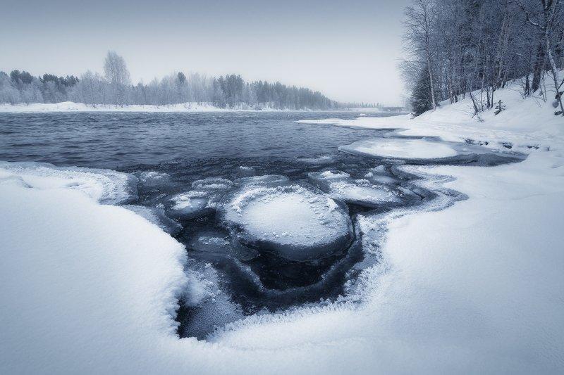 Северный монохром фото превью
