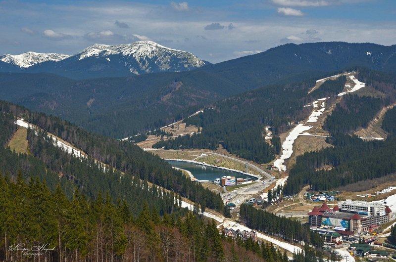 карпаты, буковель, трассы, горно-лыжный курорт, горы медвежик, довбушанка Буковель фото превью