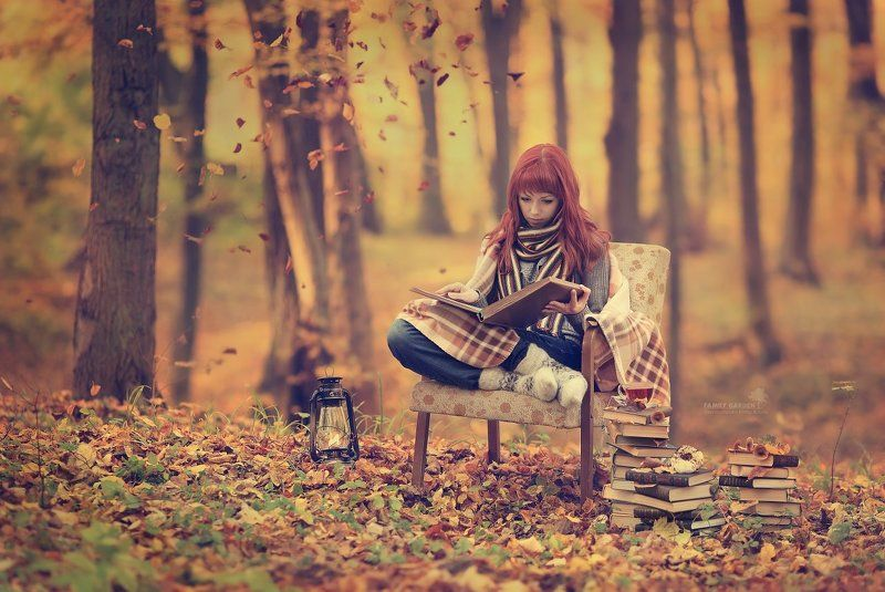 Anna, autumn, Canon EF 135 mm f/2.0L USM, Canon EOS 5D Mark II, Fall, family garden, Kaliningrad, Poets of the Fall, The memories of one\'s childhood, vint26, Zaporozhenko vitaly & julia The memories of one\'s childhoodphoto preview