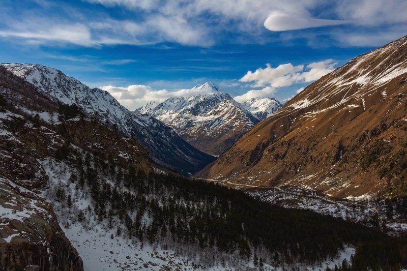 горы, эльбрус,кавказ white mountain....photo preview