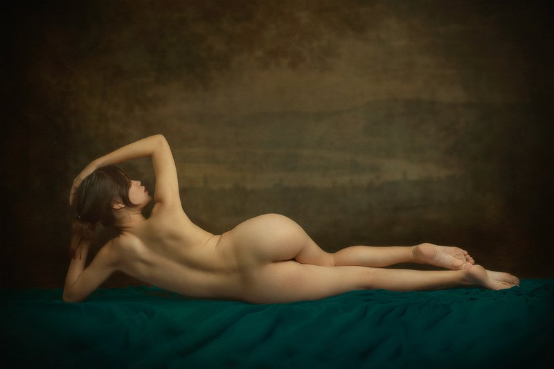 portrait, woman, female, beauty, nude, fine nude, vietnamese, asian, girl, staged, fine art * * *photo preview
