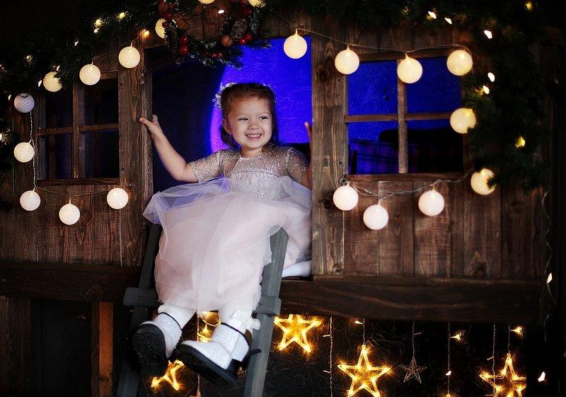 студия, помолейко, девушка, новогоднее, студия, фотостудия, дети, ребенок Новогодняя сказкаphoto preview