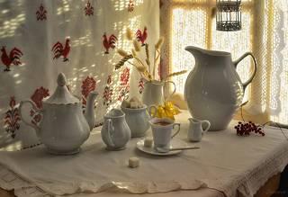 Утро, чай