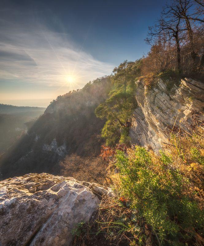 горы, закат, скалы ***photo preview