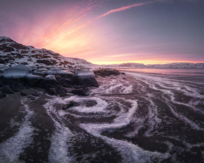 Морозные линии фото превью