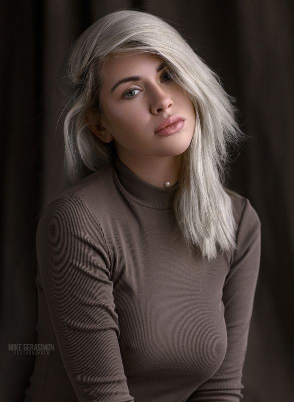 портрет девушка взгляд portrait красиво Лиляphoto preview