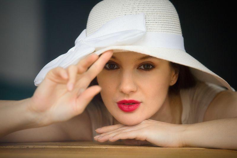 девушка, портрет, актриса Портретноеphoto preview